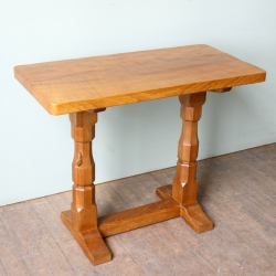 Robert 'Mouseman' Thompson  Oak 3' Hall or Extension Table