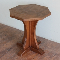 Robert 'Mouseman' Thompson Bespoke Oak Side Table