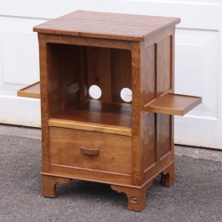 Alan 'Acornman' Grainger Oak Entertainment Cabinet