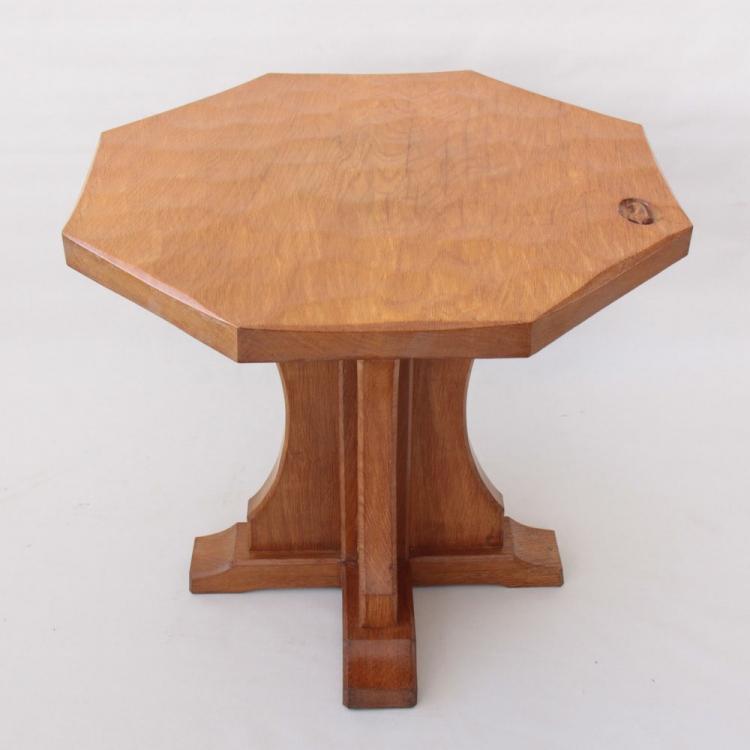 Derek Slater Fishman Oak Octagonal Coffee Table
