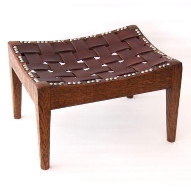 Arthur W Simpson of Kendal, Arts & Crafts 'Easy Stool'