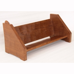 Peter 'Rabbitman' Heap Oak Book Trough