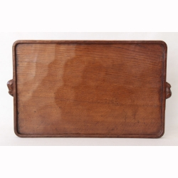 Robert Thompson 'Mouseman' Oak Serving Tray