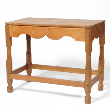 Robert 'Mouseman' Thompson Early Oak Side Table