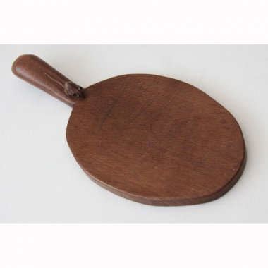 Robert Thompson 'Mouseman' Oak Cheeseboard
