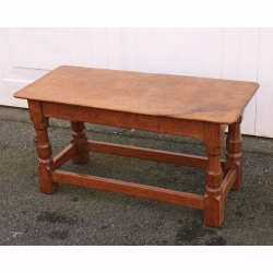 Robert Thompson 'Mouseman' Oak Coffee Table