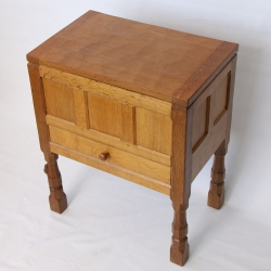 Robert 'Mouseman' Thompson, Oak Craft / Sewing Workbox