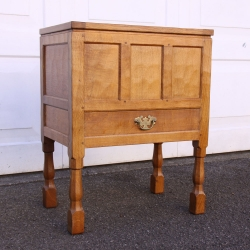 Albert Jeffray 'Eagleman' Oak  Craft / Storage Workbox