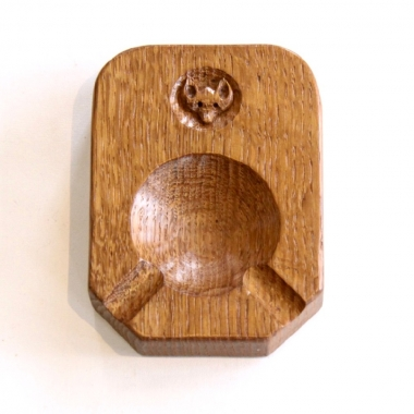 Malcolm 'Foxman' Pipes Oak Ashtray
