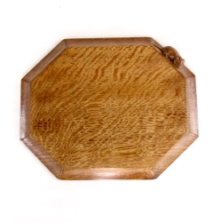 "Robert 'Mouseman' Thompson 12"" Oak Breadboard"
