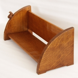 Wilf 'Squirrelman' Hutchinson, Early Oak Book Trough