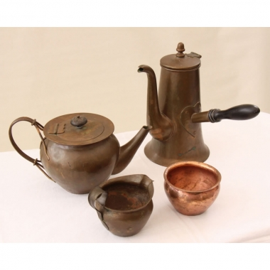 Keswick School of Industrial Art (K.S.I.A.) 4 pc Tea & Coffee Set