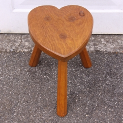 Alan Grainger 'Acornman' Oak  Stool