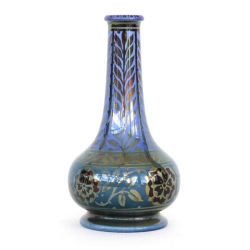 Pilkington Royal Lancastrian Lustre Vase, William S Mycock