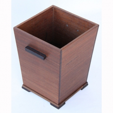Attributed to Arthur Simpson of Kendal, Walnut Planter / Waste Bin