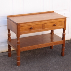 Robert 'Mouseman' Thompson Oak Serving Table