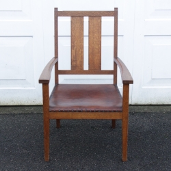Arthur W Simpson of Kendal Oak Occasional Armchair