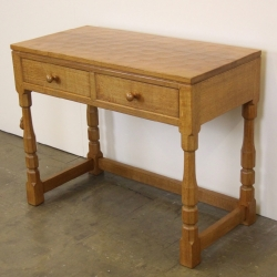 Robert 'Mouseman' Thompson 3' Oak  Hall Table