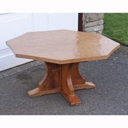 Derek 'Lizardman' Slater Oak Octagonal Coffee Table