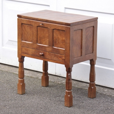 Robert Thompson 'Mouseman' Oak Workbox