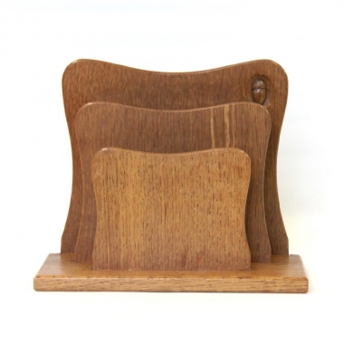 Alan 'Acornman' Grainger Oak Letter Rack
