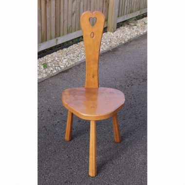 Alan 'Acornman' Grainger Oak Spinning Stool