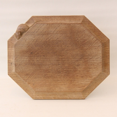 "Robert Thompson 'Mouseman' 12"" Oak Breadboard"