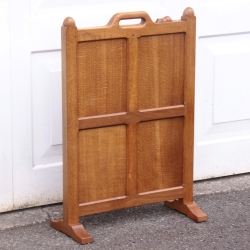 Robert 'Mouseman' Thompson Oak Firescreen