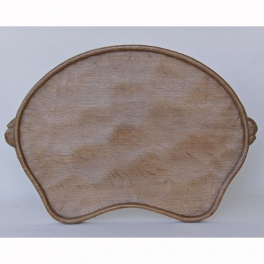 Robert 'Mouseman' Thompson, Kidney Shaped Oak Tea Tray