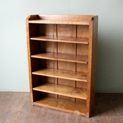Robert 'Mouseman' Thompson Adzed Oak 4'(h) Bookcase