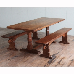 Robert 'Mouseman' Thompson 6' Oak Dining  Set