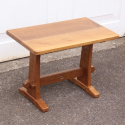 Alan 'Acornman' Grainger 2' Oak Occasional Table