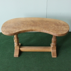 Robert 'Mouseman' Thompson Burr Oak 3' Coffee Table