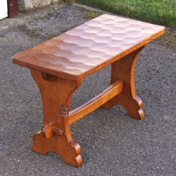 Thomas Whittaker 'Gnomeman' Oak Occasional Table or Stool