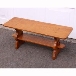 Thomas Whittaker 'Gnomeman' Oak Coffee Table