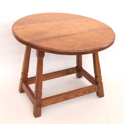 Alan 'Acornman' Grainger Oak Dropleaf Occasional / Coffee Table