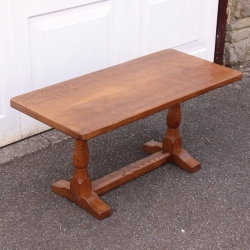 Albert 'Eagleman' Jeffray 3' Oak Coffee Table