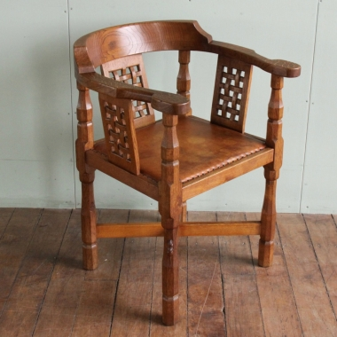 Robert 'Mouseman' Thompson Oak Monks Chair