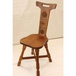 Colin 'Beaverman' Almack Silver Jubilee Spinning Chair
