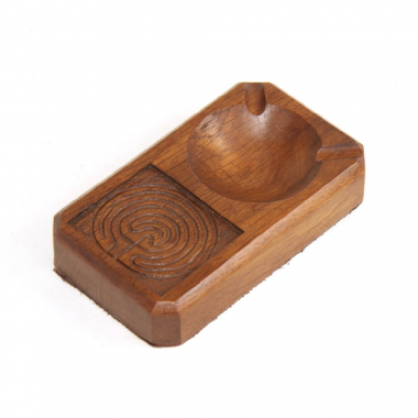 Maze 'Yorkshire Critters' Oak Ashtray