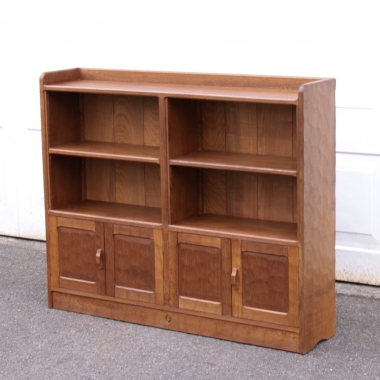 Alan 'Acornman' Grainger Bespoke Oak Bookcase