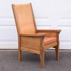 Robert 'Mouseman' Thompson Oak Smoking Chair