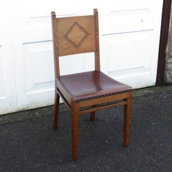 Arthur W Simpson of Kendal Oak Occasional Chair