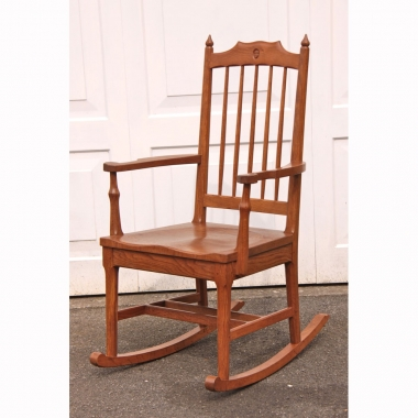 Alan Grainger 'Acornman' Oak Rocking Chair