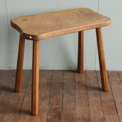 Robert 'Mouseman' Thompson Oak Side or Small Tavern Table