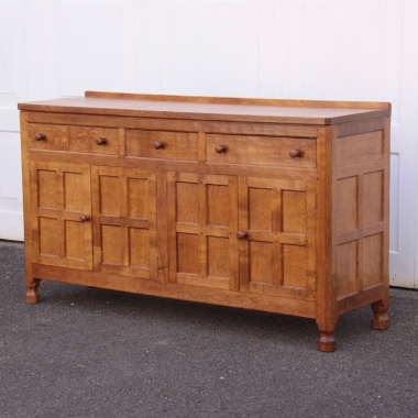 "Albert 'Eagleman' Jeffray Oak 4'10"" Sideboard"