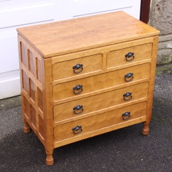 Sid Pollard, Oak Chest of Drawers