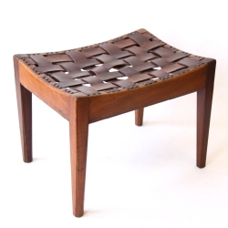 Arthur W Simpson of Kendal, Arts and Crafts 'Easy Stool'