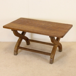 Peter 'Rabbitman' Heap 3' Oak Coffee Table