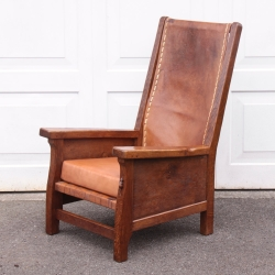 Robert 'Mouseman' Thompson Early 30's Smoking Chair